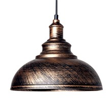 Industrial Warehouse Pendant Lights High Quality Indoor Metal Pendant Lamp Loft Northern Europe Vintage  Restaurant Lighting