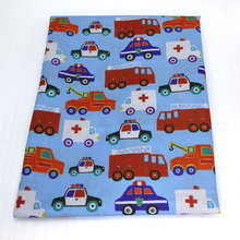 44907 50*147CM cars Polyester cotton fabric for Tissue Kids Bedding textile for Sewing Tilda Doll, DIY handmade materials