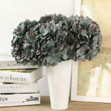 1 Pcs Artificial Flowers Hydrangea Flower Plants Wedding Decoration Arrangement Room Hydrangea C0695P5