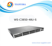 48 Ports 10gb Switch Ethernet Core Managed Switches WS-C3850-48U-S(China)