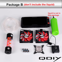 Computer Case Water Cooling Parts Water-cooled accessories  240 Aluminum Radiator, CPU Waterblock, Pump, Virus Tank