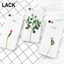 LACK Luxury 3D Relief Leaf Cartoon Case For iphone 7 Case Cute Plants Leaves Flower Back Cover Phone Cases For iphone7 6 6S Plus