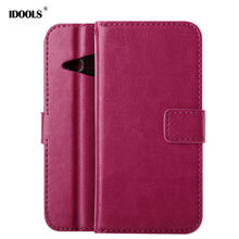 For HTC One M8 Mini Case Quality Picks Trending Style PU Leather Coque Wallet Flip Cover Bags Cases For HTC One M8 Mini 5.0 inch