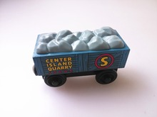 RARE new style wooden Thomas and friend train Chinldren child kids plastic toys stone truck
