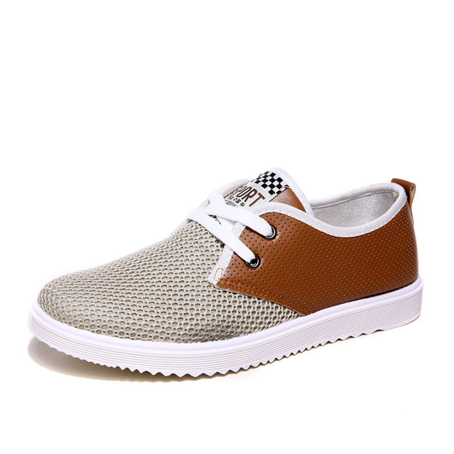 Spring Autumn Mens Fashion Simple Breathable Casual Shoes,Fashion Non-slip Male Fashion Air Mesh Shoes<br><br>Aliexpress