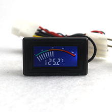 -50-110C Digital LCD Pointer Thermometer Car Water Temperature Meter Gauge C/F for Computer Case