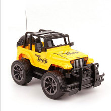 Buy 1:24 RC Mini Jeep Cars Electric Remote Control Toys 4CH Control Cars Classic Toys Boys Kid Gift Random Color for $18.59 in AliExpress store