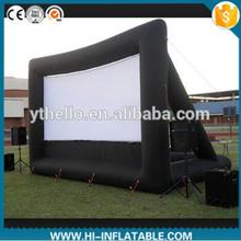 Hot selling outdoor cinema inflatable screen custom,inflatable advertising model, giant inflatable movie screen