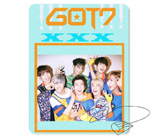 New kpop GOT7 The Same rubber mouse pad 260*210mm