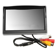 "AUTO New 5"" 800*480 TFT LCD HD Screen Monitor for Car Rear Rearview Backup Camera"