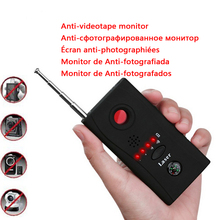 Newest Multi Wireless Radio Wave Signal RF GSM Device Spy Pinhole Hidden Camera Lens Sensor Scanner Detector Finder(China)