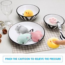 Kawaii Cell Phone Strap Cute for oneplus 5 For iphone Case Silicone Soft Squishy Toy Stretchy Healing Fidget Hand Squeeze Toy