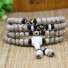 IB3187 Tibetan 108 beads Bodhi seeds Starmoon prayer beads mala wholesale,new design new arrived!(China)