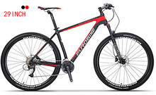 EUROBIKE carbon fibre bike 27 speed mountain 29 inch bicycle mtb M315 Hydraulic disc brake M370 bicicleta(China)