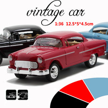 Dodge Classic Car 1:36 scale alloy pull back car, Retro Diecast model toy,Best gift,Alloy toys,free shipping(China)