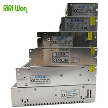 RiRi won DC 12V LED Power Supply AC 110-240V To DC 12V Lighting Transformers Adapter For Led Strips light led tape driver