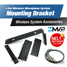 Free Shipping! Rack Mounting Bracket Rack Kits 2 Antenna Extension Cable For SLX Wireless Microphone System Diversity Receiver(China)