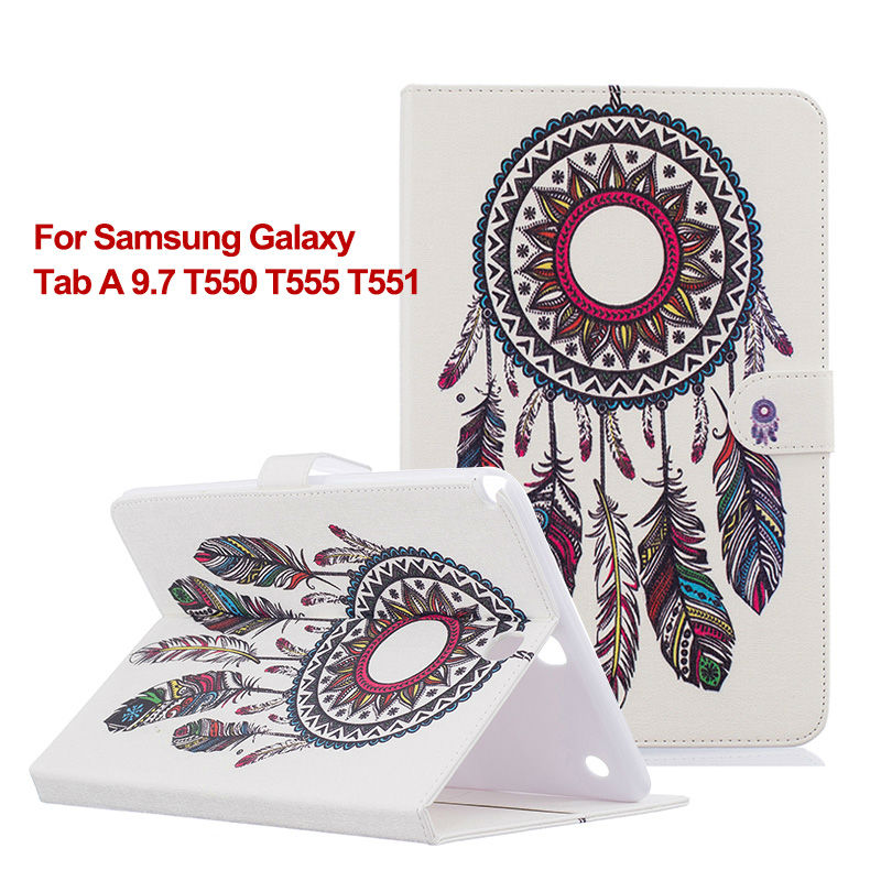 For Samsung Galaxy Tab A 9.7 inch T550 T555 T551 PU Leather Stand Case Cover for samsung galaxy tab a 9.7 case t550 tablet bags<br><br>Aliexpress