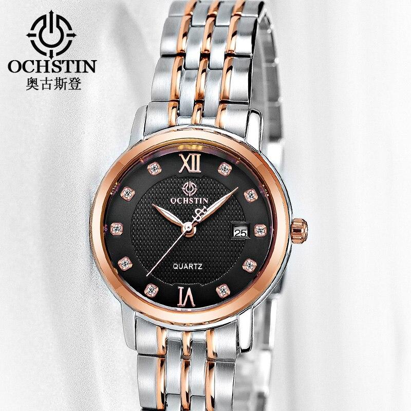 Watch Women Top Brand Luxury OCHSTIN Fashion Quartz Watches Women Dress Clock relogio feminino Ladies Wristwatch Montre Femme<br>