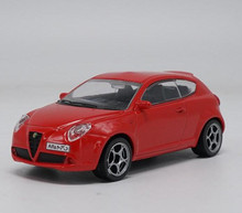 high imitation Alfa Romeo,1:43 scale alloy car model, Static model, metal casting, children toy vehicles, free shipping