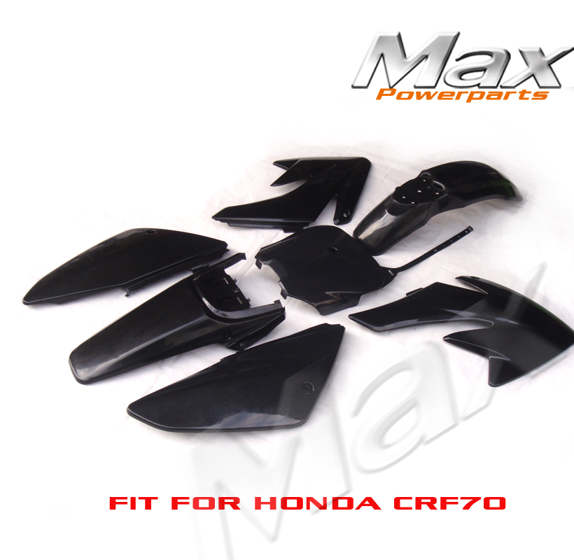 Black CRF70 Plastic covers  Plastic kits Fairing Pit Bike Procket Bike Xmotos Baja DR50 49 50cc 70 90 110 New PP<br>