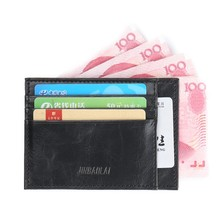 Vintage Mini Wallet Business Credit ID Card Holder Card bag PU Leather Slim Bank Card Case Bag Purse Bag Pouch men women Gift