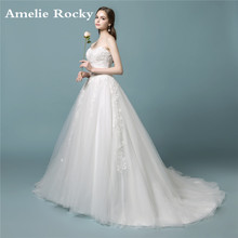 Buy Vestidos De Noiva 2018 Bride Dress Simple Church Vintage Wedding Dress Ball Gown Sexy Lace Wedding Gowns Robe De Mariee for $209.00 in AliExpress store