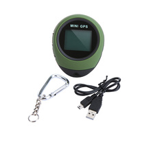 Updated Mini GPS Receiver Navigation PG03 Handheld Location Finder USB Rechargeable with Compass for Outdoor Adventure