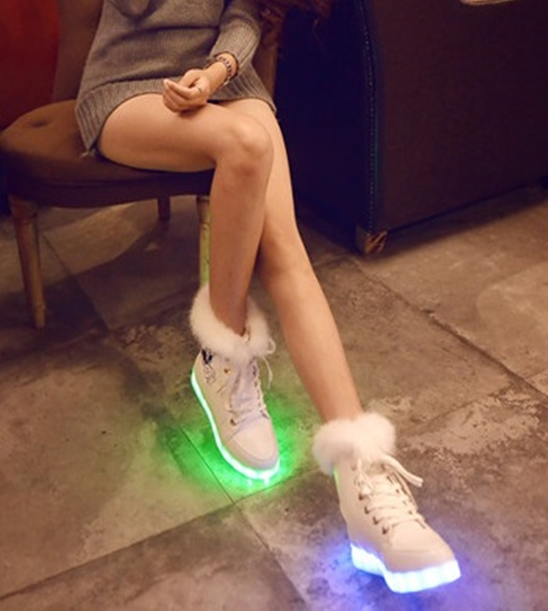 Led Shoes Colorful Winter Led Boots New Simulation Sole Led Shoes For Adults zapatos mujer ALS701G<br><br>Aliexpress