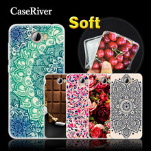 CaseRiver Soft Silicone Cases Cover For Huawei Honor 5A LYO-L21 / Y6 II Compact / Y5 2 Y5 II Y5II Phone Case Cover
