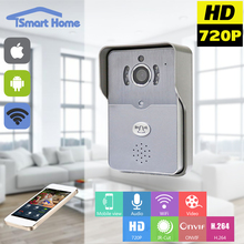 HD 720P Wifi Doorbell Camera Wireless Video Intercom Phone Control IP Door Phone Wireless PIR Door bell for home security