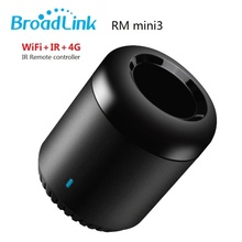 2017 New Original Broadlink RM Mini3 Universal Intelligent WiFi/IR/4G Wireless Remote Controller Via Phone Smart Home Automation