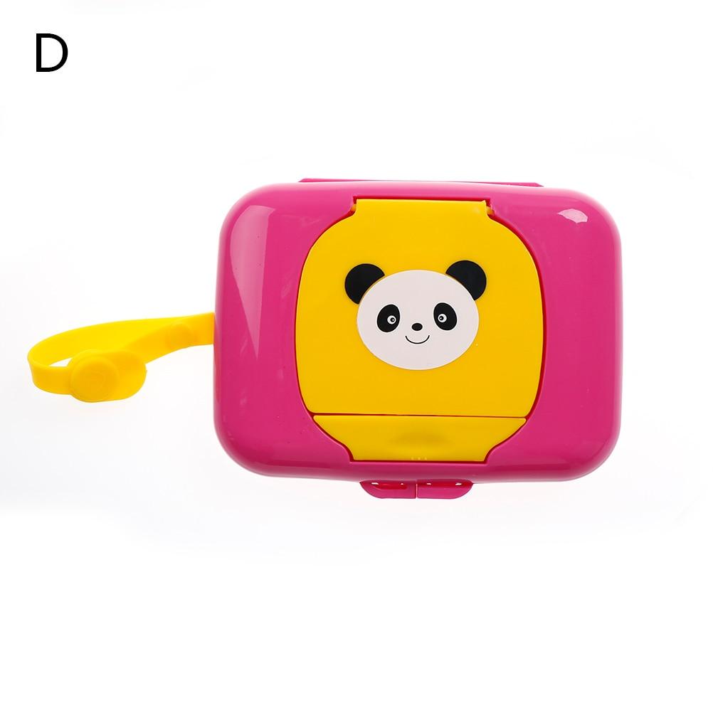 Baby Travel Wipe Case Child Wet Wipes Box Changing Dispenser Storage HolderB La