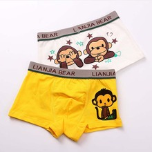 3 Pcs Cotton Boy Boxer Boy Cartoon Underwear Kids Panties Child's Underpants Shorts for Boy Children's Boxer Fashion New 2-10T(China)