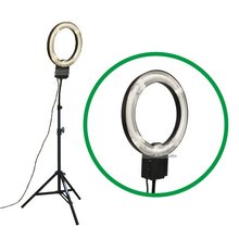 Studio Pro 40W 5400K Daylight Fluorescent Ring Lamp Light with 2M Stand 110V