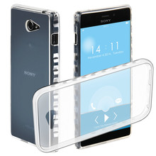 Big discount TPU phone Case for Sony Xperia M2 / Sony Xperia M2 dual Slim Flexible Soft  Shell Protection clear Cover