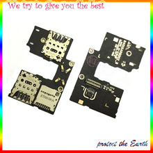 Dual / Single SD Memory SIM Card Reader Holder Flex Cable Replacement Repair Parts For Motorola Moto G3 3rd XT1540 XT1541(China)