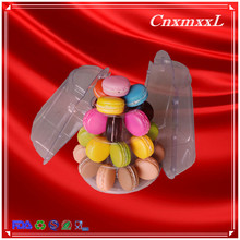 4 layers cake plastic blister tower stand tiers display stand hold 47 macarons macaron tower