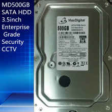 "500GB HDD SATA 3.5inch  MaxDigital/MD500GB SATA 3.5"" Enterprise Grade Security CCTV Hard Drive Warranty for 1-year"