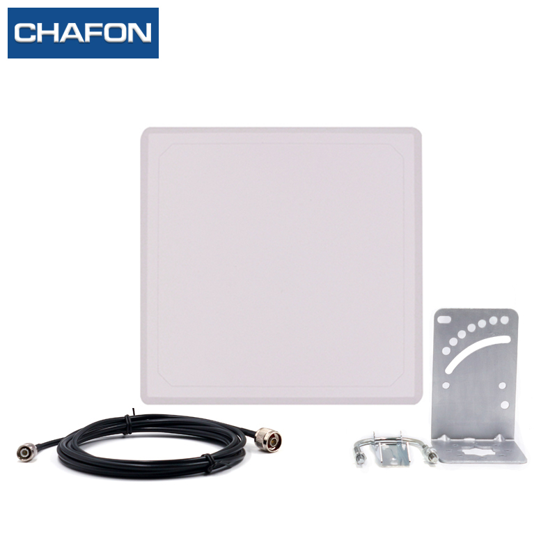 waterproof uhf rfid circular 868mhz 9dbi antenna used for parking lot management<br>