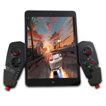 PG-9055 Telescopic Wireless Bluetooth Gamepad PC Game Gaming Controller Joystick For Ipone iPad Android Phone