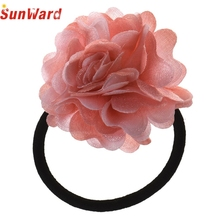 Hot Selling ! Wonderful Chiffon Flower Sweet Headband Girl Women's Hair Accessories Hair Head Ring  Jan 20