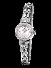 a76b128d502 Royal Crown joyería reloj 6536 s Italia marca diamante Japón MIYOTA plata  platino pulsera 19mm Claw