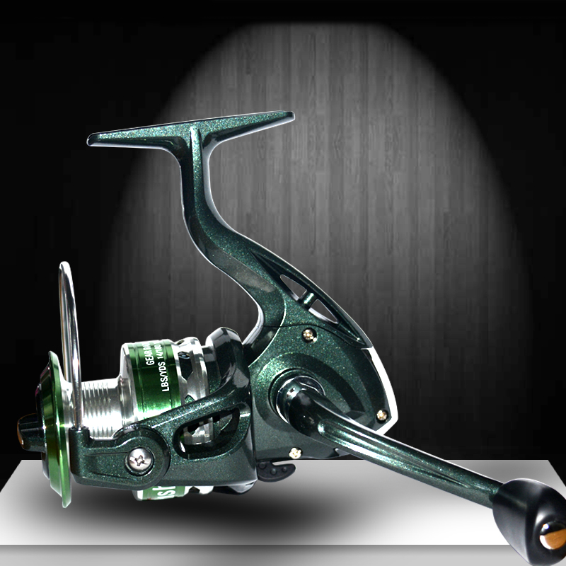 Free Shipping Korea technology Gear Ratio 5.5:1 Fishing Reel 10BB Spinning Reel Fishing Wheel Front drag Spinning wheel Pesca(China)