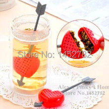 1pcs/lot  Valentine Gift Cupid Heart  Tea Strainer Tea Infuser Filter  Creative Coffee & Tea Tools