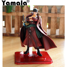 [Yamala] 15cm Janpanese Anime One Piece Film Z Roronoa Zoro PVC Action Figure Toy Zoro Model Collections toy gift doll Christmas(China)