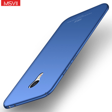MSVII For Meizu M3 Note Case Meizu M3S Mini M3Note Case Original Luxury Full Protection PC Hard Frosted Back Cover