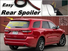 Root / Rear Spoiler For Dodge Durango MK3 2011~2015 Trunk Splitter / Ducatail Deflector For TG Fans Easy Tuning/ Free Modeling