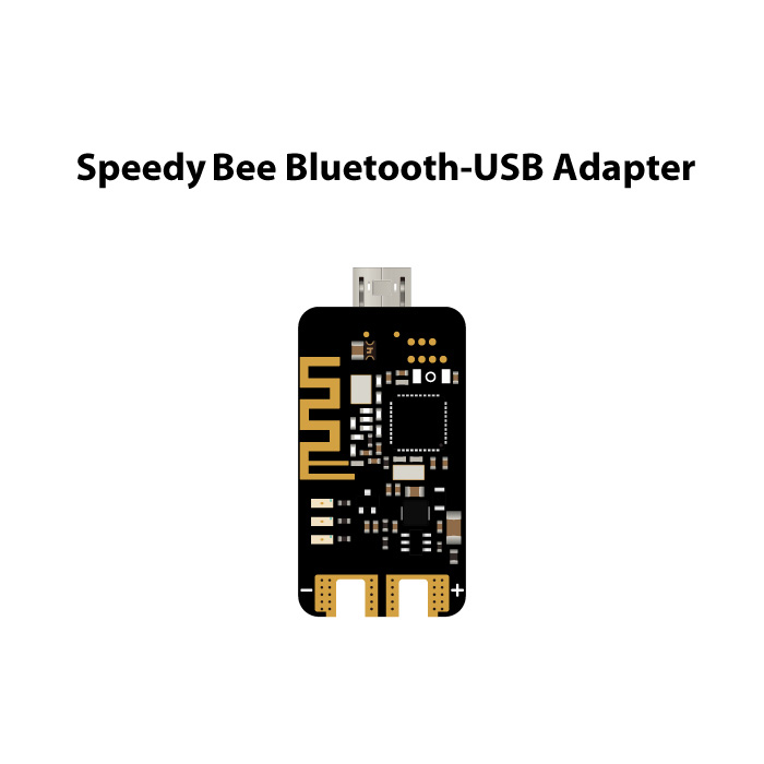 RunCam Speedybee Bluetooth-USB Adapter 2nd Generation Module Supported with iOS and Android for FPV Flight Controller Quadcopter(China)
