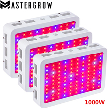 3PCS DIAMOND II 1000W Double Chips LED Grow Light Full Spectrum 410-730nm Red/Blue/White/UV/IR For Indoor Plants and Flower(China)
